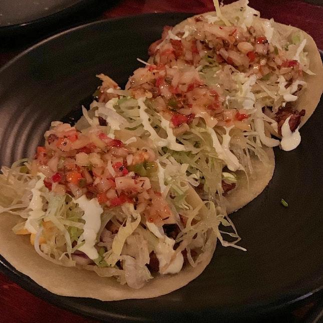 Chimichurri Chicken Tacos ($17)
