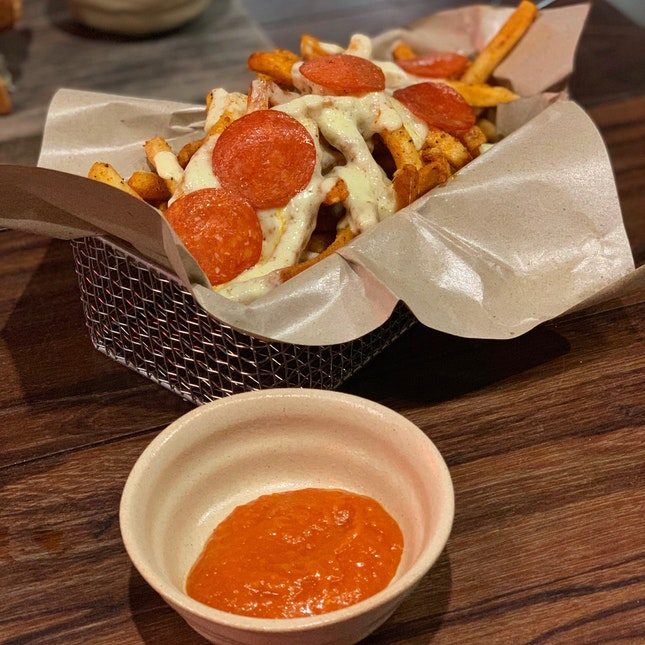 Pizza Fries ($14)