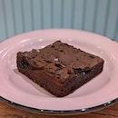Fudgey Sea Salt Brownie ($5)