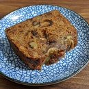 Banana Walnut Teacake