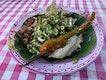 Nasi Kerabu or Nasi Ulam as some call it for breakfast today.