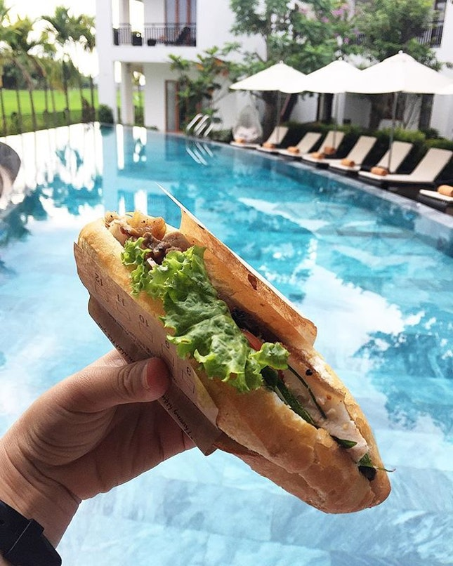 """My """"everything also want"""" banh mi."""