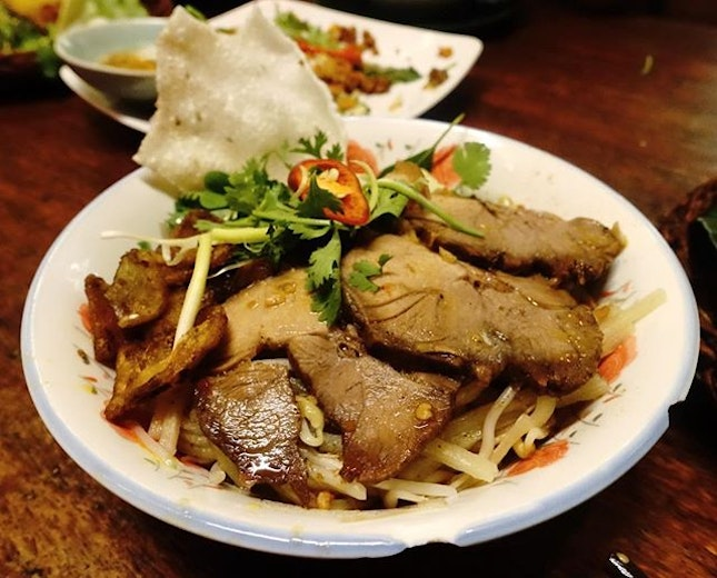 You haven't been to Hoi An until you've had Cao Lau.