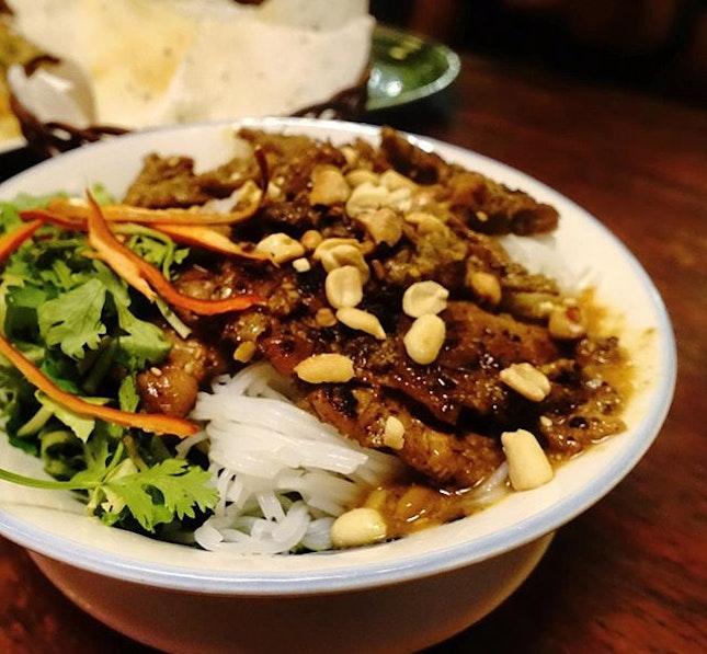 Bún thịt nướng is always a great idea!