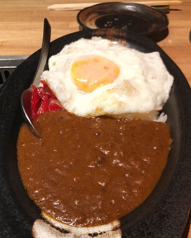 Wagyu beef curry rice here is the best I've had.