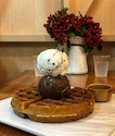 The Belgian waffles here are equally delectable!