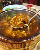 Sour and hot soup!