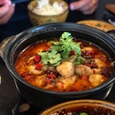 Sichuan boiled fish or Shui Zhu Yu, 水煮鱼 is a classic that one must always order.