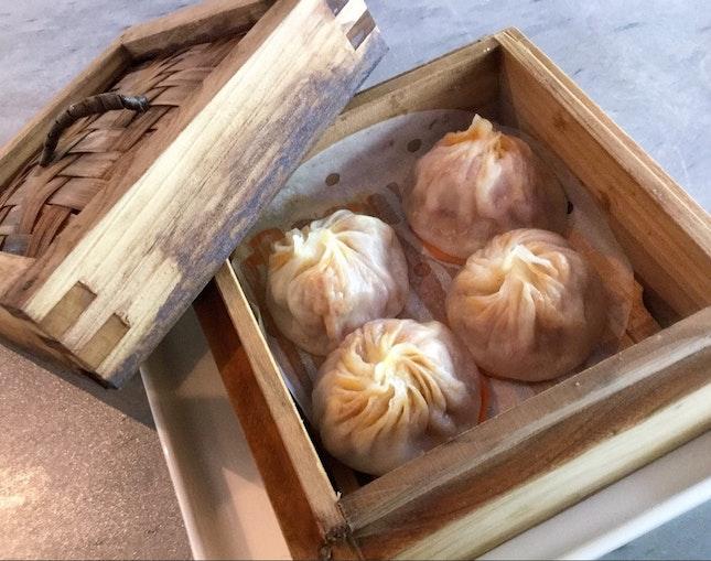 辣椒螃蟹小籠包  $9/$8 (set lunch add on)
