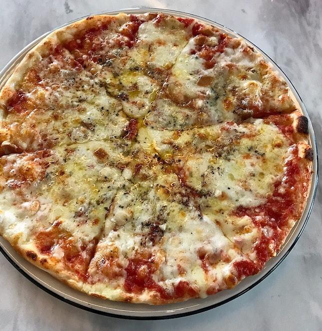 Pizza Quattro Formaggio  $20
