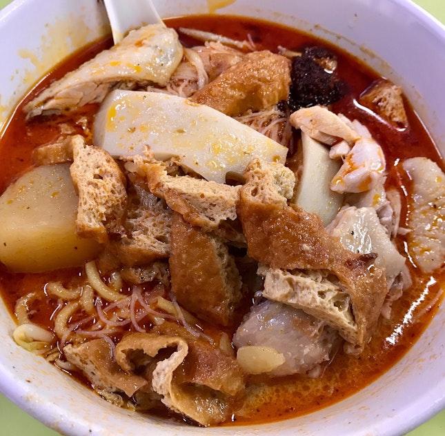 咖喱雞米粉麵  $5.50