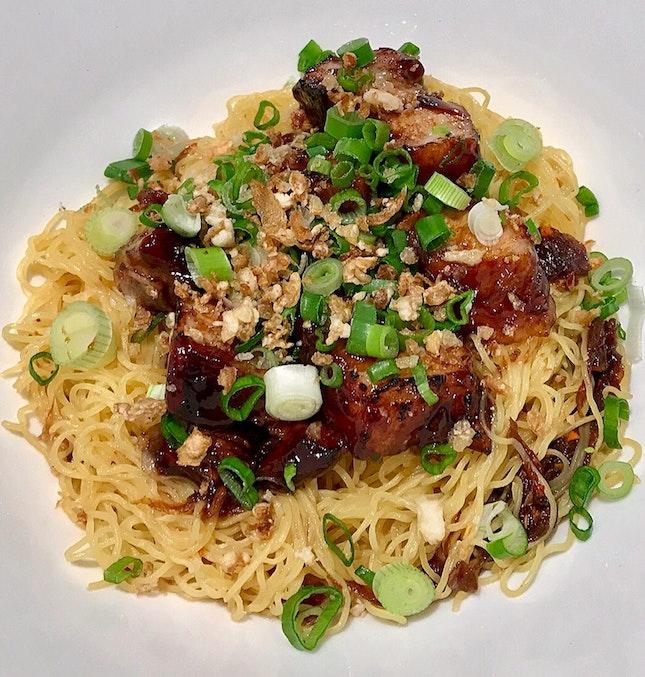 Signature Char Siew Noodles  $9.90