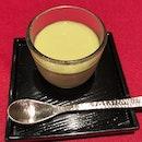 豆乳プリン 抹茶ソース