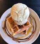 Waffles  $13.20