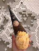 脆波波鹹蛋黃冰淇淋  $5.40