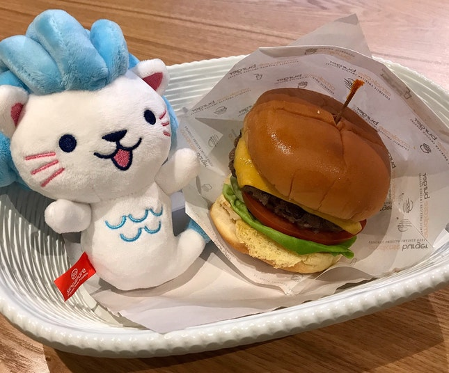 Omakase Cheeseburger  $16.90