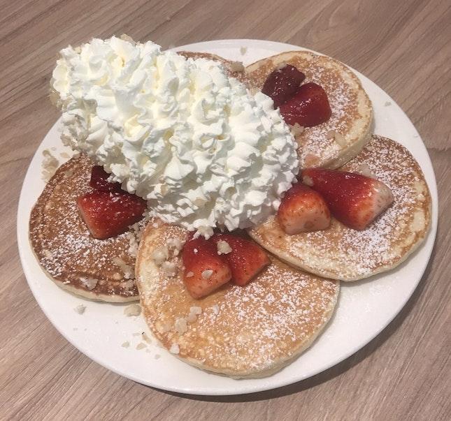 Fresh Strawberry Pancakes  $16.90