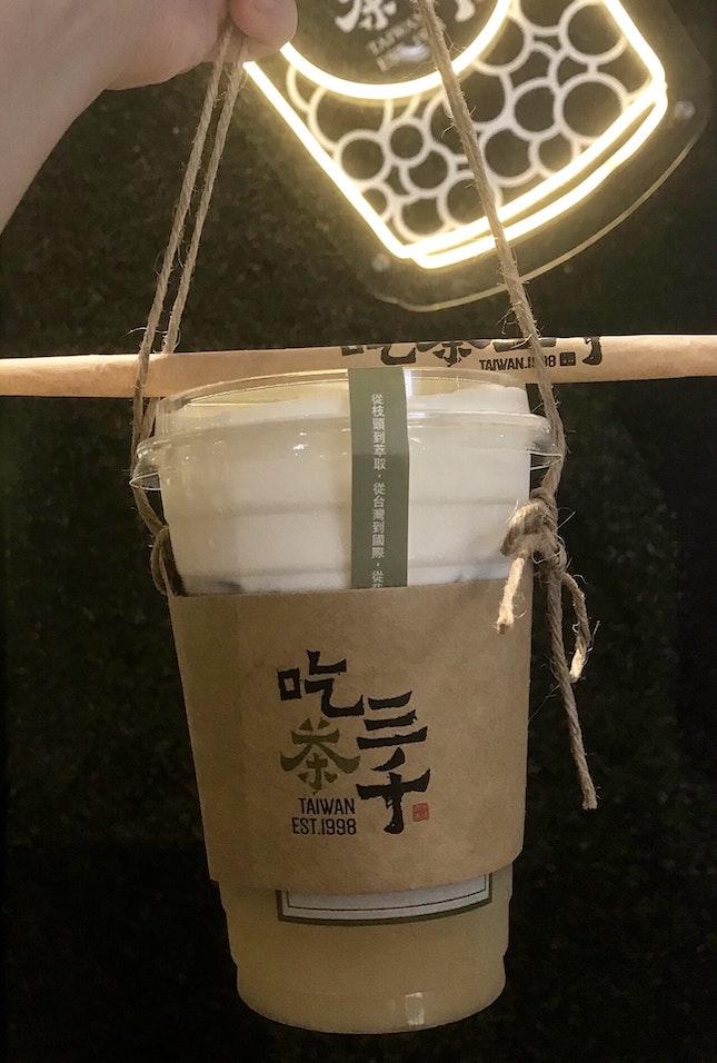 水仙桂花奶蓋  $4.70