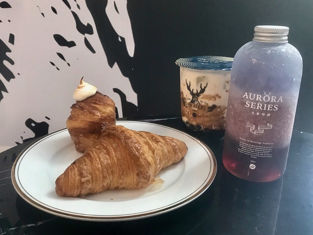 黑糖鹿丸鮮奶 $5.30   北極光$8.80
