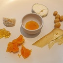 Assorted Cheese and Condiments