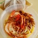 大蝦麵 (干)  $7.80