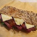 Camembert & Beef Sandwich  $9.50