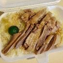 鹹鴨飯  $5