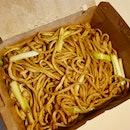 韭黃鮮菇乾燒伊麵  $15
