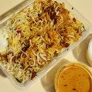Hyderabad Chicken Dhum Biryani  $10.90
