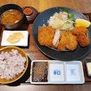 ミルフィーユかつセット (+カキフライ)  $41.67
