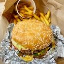 Little Cheeseburger & Little Cajun Fries  $20