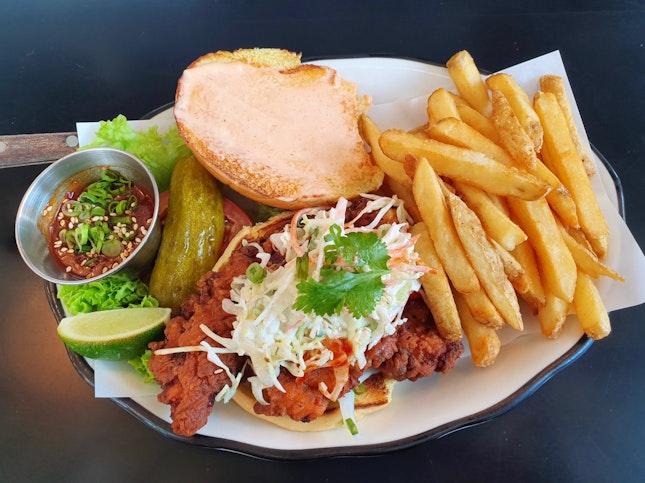 Crispy Chicken Sandwich  $23