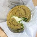 3種のチーズ大判焼 (抹茶生地)  $3.50