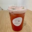 Strawberry Basil Oolong  $6.60