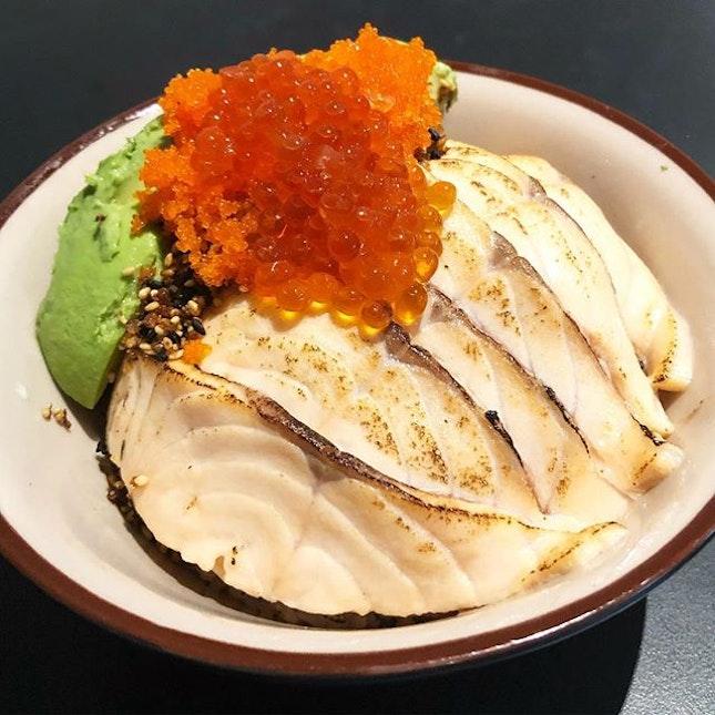 Salmon avocado bowl ($24++) Tbh, a really overpriced salmon bowl.