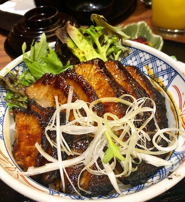 Kurobuta hoho Don ($16)  Even though it has a funny sounding name, this bowl of smokey goodness was definitely a stunner.