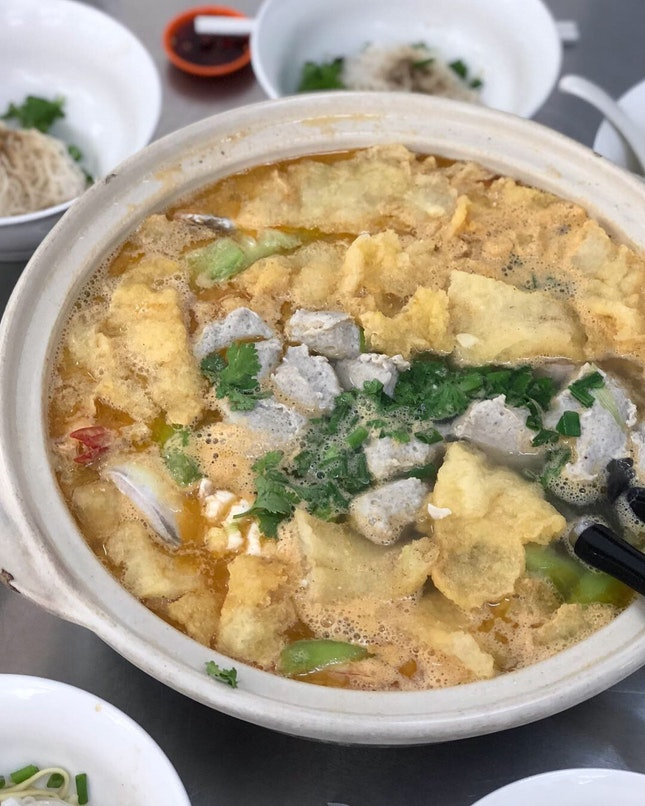 Fish Head Noodles