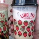 Strawberry Foam Latte (4/5)