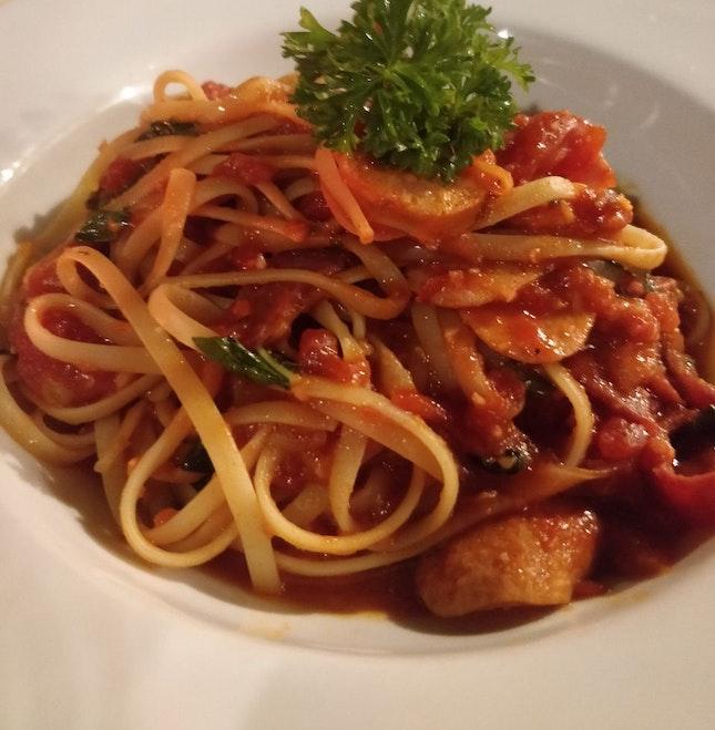 Harsha's Pasta (3/5⭐)