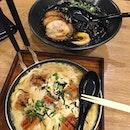 Always order black ramen at ramen restaurant!
