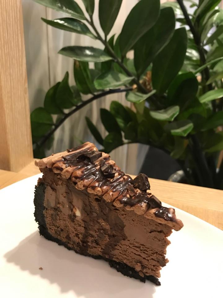 Belgian Chocolate Cheesecake $8