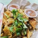 Fried Oyster Egg $6