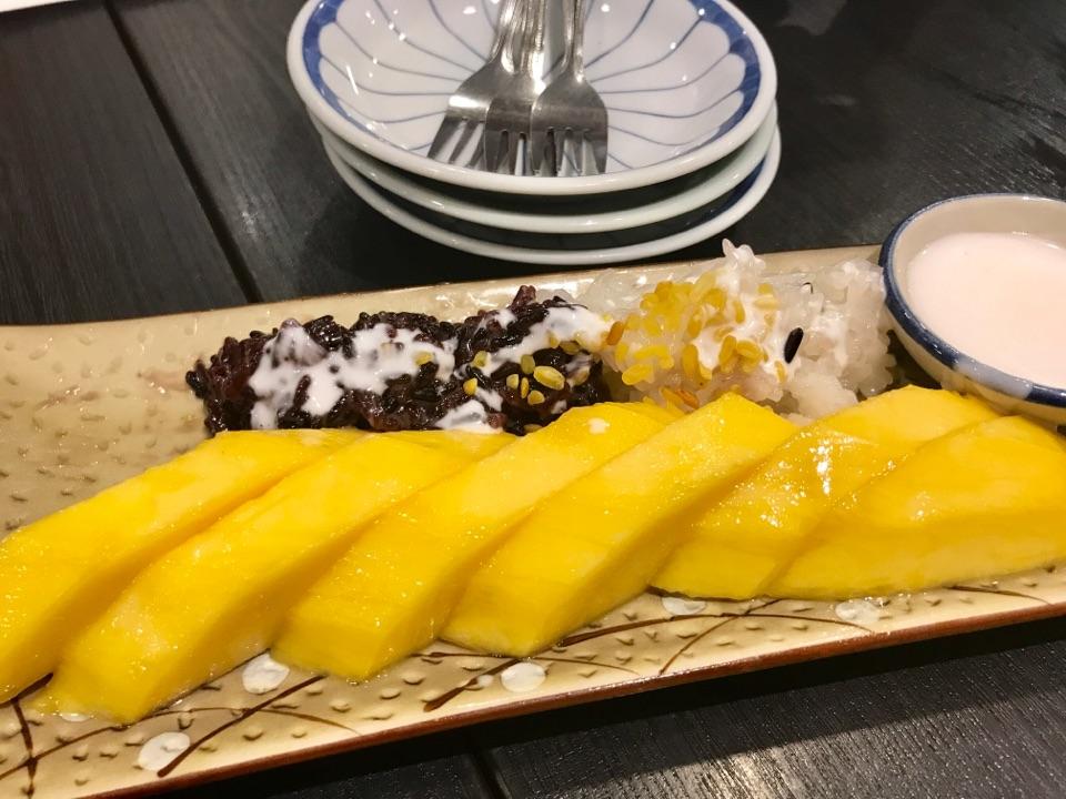 Must Order-Mango Rice 😋