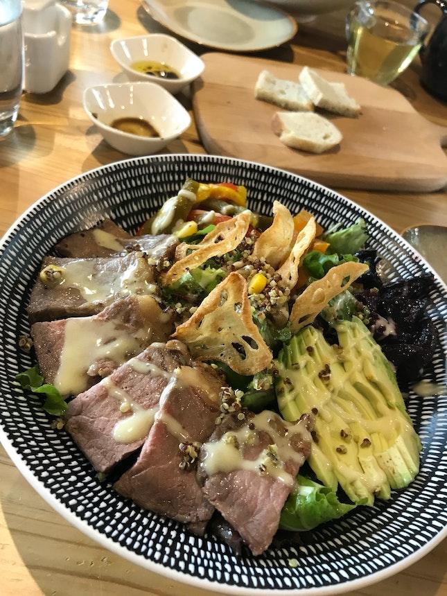 Grilled Beef Salad $18