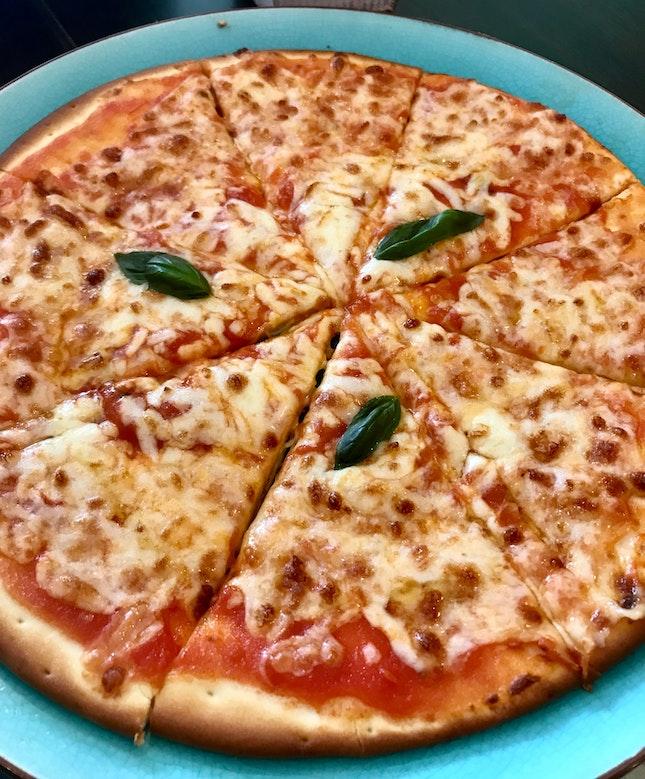 Fabulous thin crust pizzas