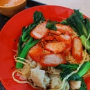 Old School Wanton Mee