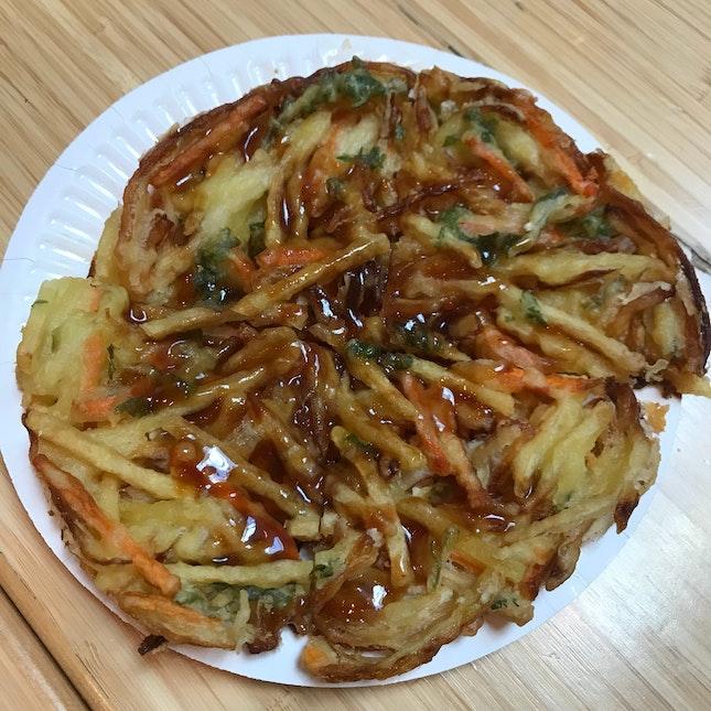 Deep-fried Yasai Kakiage
