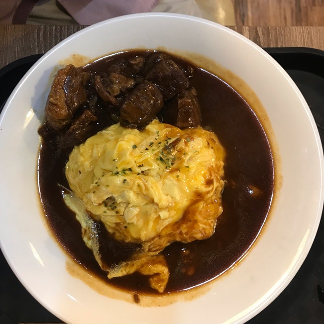 Breef Grisle Omu Rice