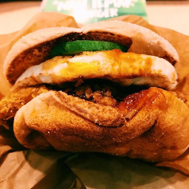Nasi Lemak Burger.
