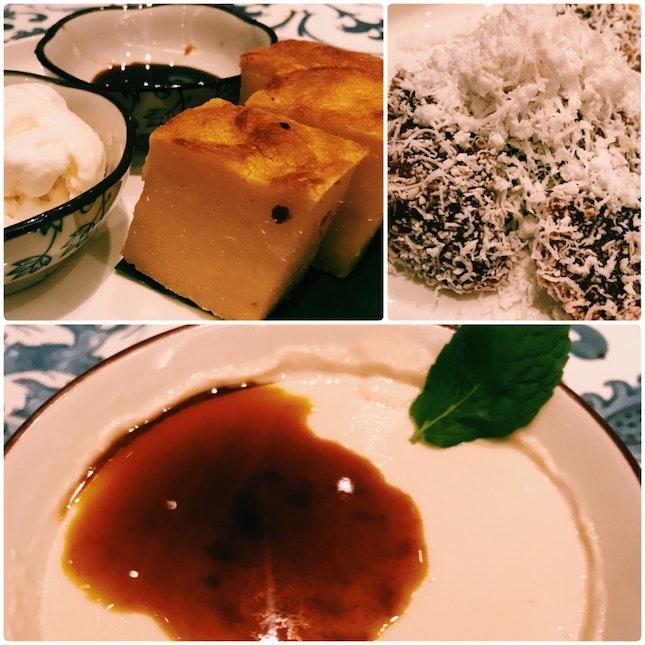 Desserts are definitely worth ordering at @folkloresg
